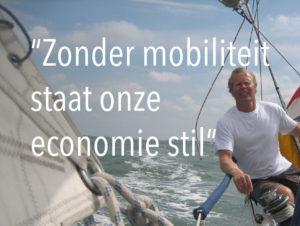 Pieter Elias, zonder mobiliteit staat onze economie stil
